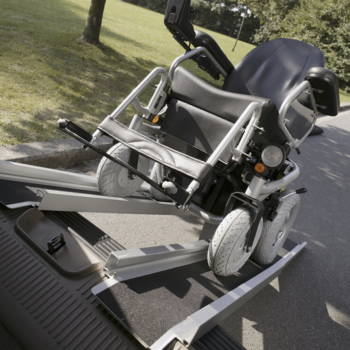 Rampa dla wózka